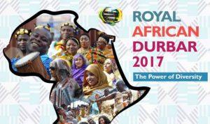 Royal African Durbar, Augustus 24-26, 2017