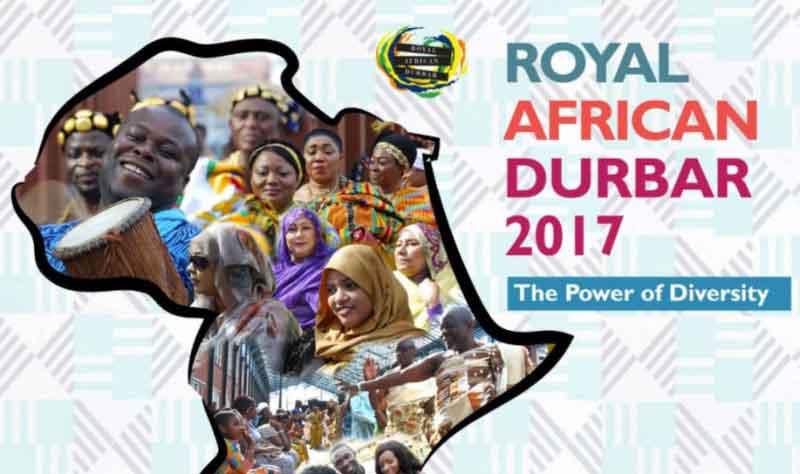 Rapport over het Royal African Durbar Festival 2017