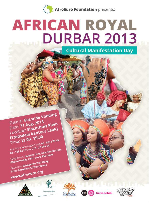 AFRICA-ROYAL-DURBAR- A3-poster